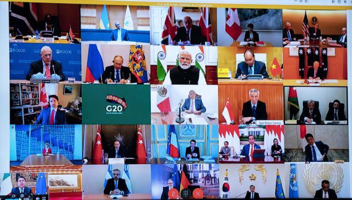 Videoconferenza G20