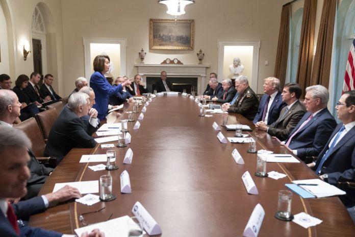Nancy Pelosi vs Donald Trump