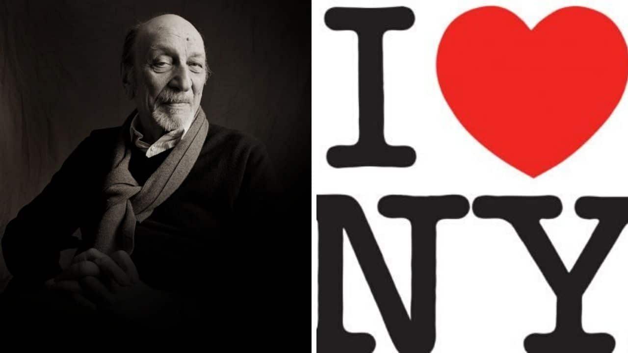 Milton Glaser, morto il creatore del logo