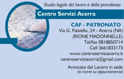 Acerra Service Center