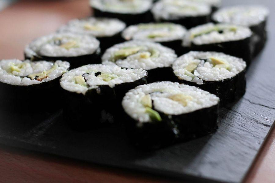 sushi vegan maki