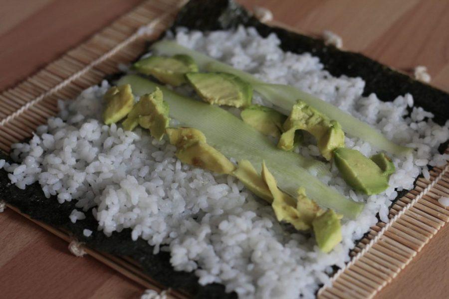sushi maki ricetta vegan