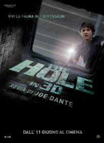 The Hole in 3D, di Joe Dante, horror, USA 2009, durata 92 min.