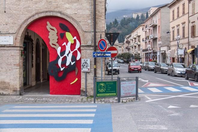 Giorgio Bartocci Human Territories San Severino Marche