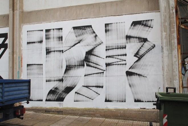 blaqk street art athens