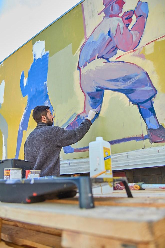 Aryz Truck Art Project