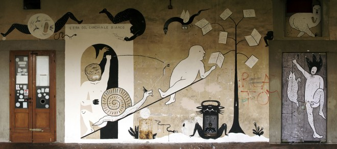 Guerrilla Spam Firenze street art