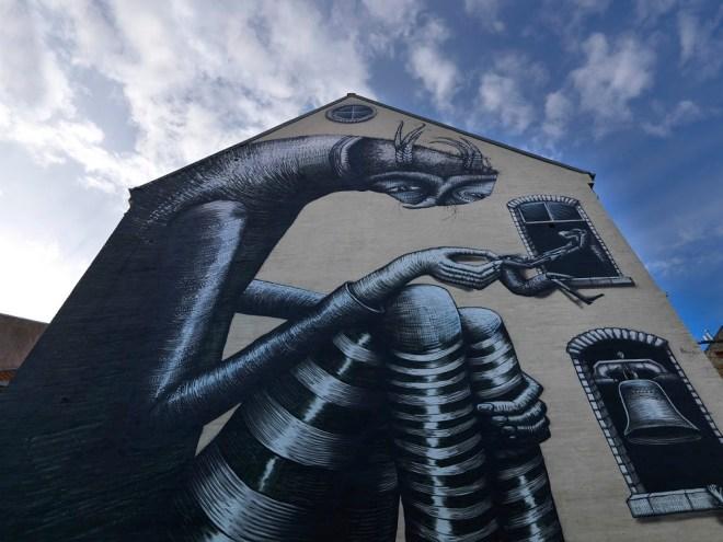Phlegm Aalborg Street art