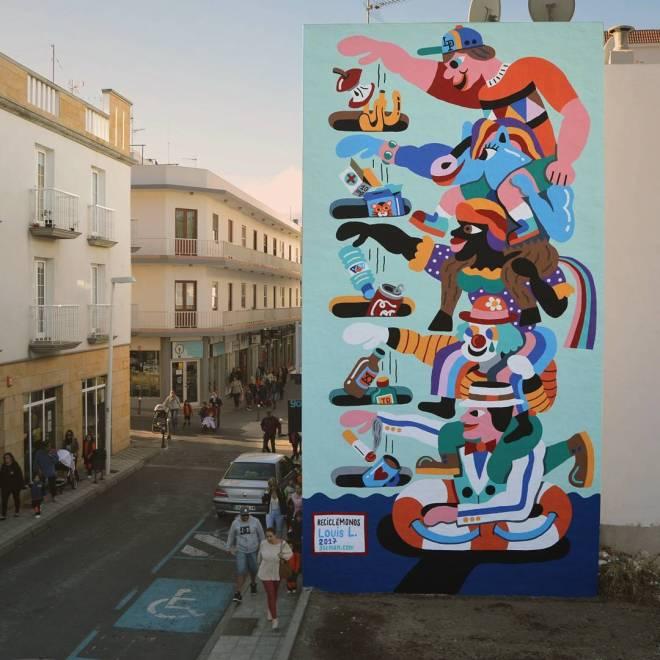 3ttman Street Art La Palma Canary Island