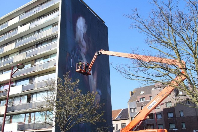 Axel Void Street Art The Crystal Ship Oostende