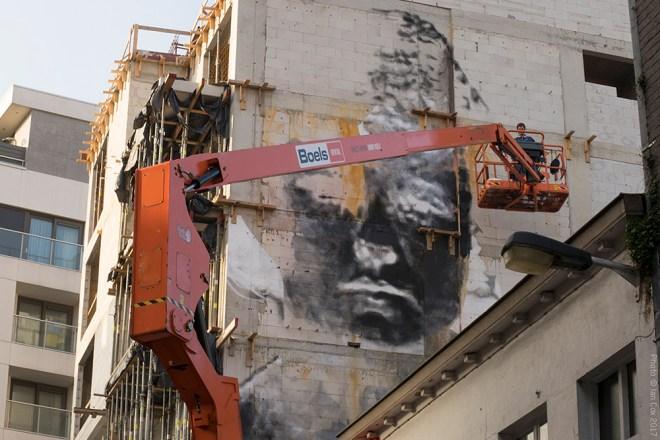 Bosoletti Street Art The Crystal Ship Oostende