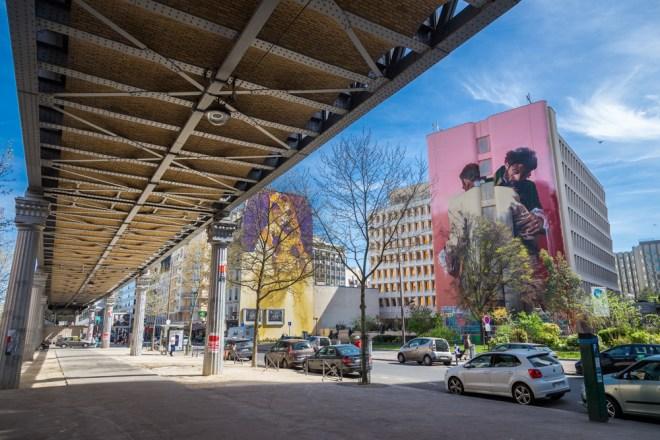 Conor Harrington street art Paris