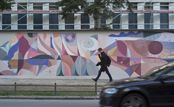Otecki Street Art Warsaw