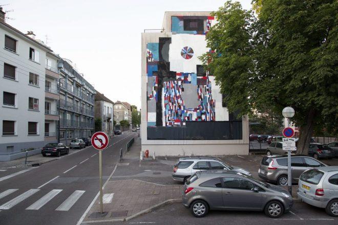 Ekta Street Art Besançon Bien Urbain Festival