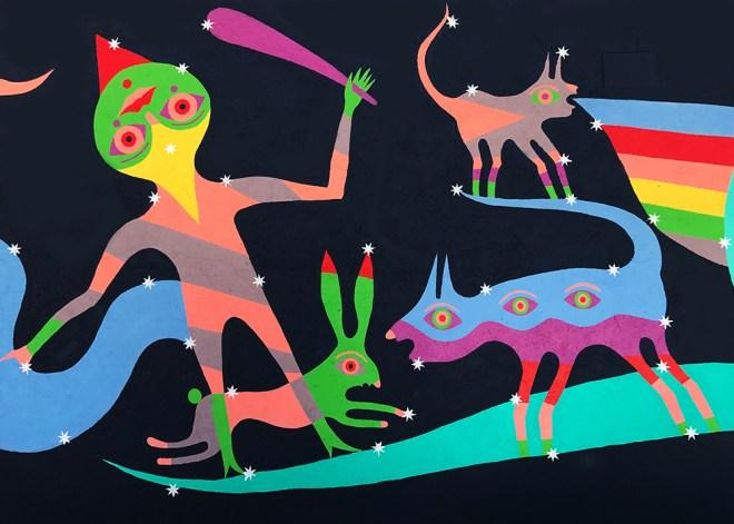 Gio Pistone Street Art Borgo Universo Aielli