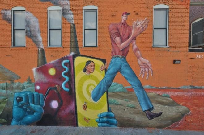 AEC Interesni Kazki Saner Street Art Fort Smith