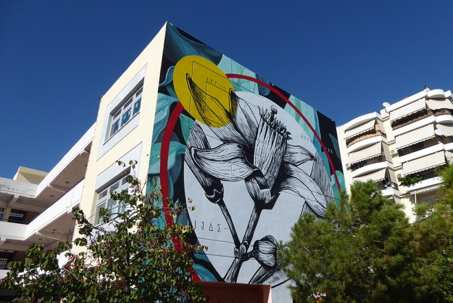 Fabio Petani Street Art Athens