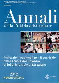 annali pubblica istruzione