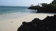 Una spiaggia incontaminata