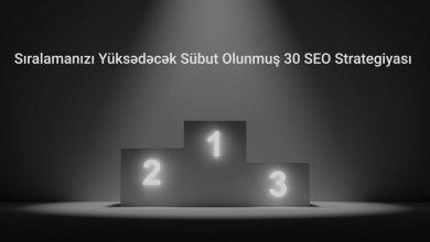 Photo of Sübut Olunmuş 30 SEO Optimizasiya Texnikaları [2020]