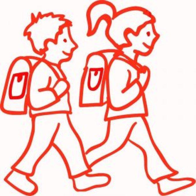 Berangkat ke Sekolah