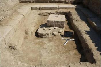 Κατά την τριετία 2012-2014 συνεχίσθηκε και ολοκληρώθηκε η ανασκαφική έρευνα στους τρείς εσωτερικούς χώρους του κτηρίου, το οποίο είχε αναφανεί το 2011, κατά την εποπτεία από την Εφορεία του δημόσιου τεχνικού έργου υδρεύσεως της Ηλείας από τον π. Ερύμανθο. Πρόκειται για νέο ιερό, ευρισκόμενο σχεδόν στους βόρειους πρόποδες του Κρονίου λόφου και στο άμεσο περιβάλλον του ιερού της Ολυμπίας. Το κτήριο ιδρύθηκε στα τέλη 5ου—αρχές 4ου αι. π. Χ., ενώ παρουσιάζει διαδοχική χρήση τουλάχιστον από την γεωμετρική έως και την ύστερη ρωμαϊκή εποχή. Αποκαλύφθηκε βωμός και δύο τράπεζες προσφορών, ενώ σε πολλές δεκάδες ανέρχονται τα λατρευτικά αναθήματα ποικίλων ειδών και όλων των υλών. Το ιερό, βάσει επιγραφών, ήταν αφιερωμένο στην χθόνια γυναικεία θεότητα και προστάτιδα του τοκετού Ειλείθυια. Με την ανεύρεσή του, καθίσταται προφανές ότι η ιερά ΄Αλτις και ο περιβάλλων χώρος της έχουν πολλά ακόμη να αποκαλύψουν.