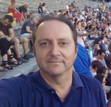 Ο Διευθυντής του 2ου Σχολείου Δεύτερης Ευκαιρίας Λάρισα κος Γιώργος Τράντας