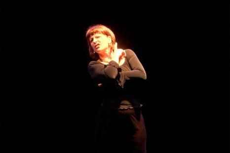 Ilíada, Canto 4 – Lala Scremin – Teatro Londrina, Memorial de Curitiba – Fotografia Gilson Camargo