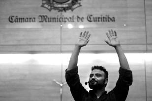 Ilíada, Canto 16, Richard Rebelo – Câmara Municipal de Curitiba – Foto Gilson Camargo