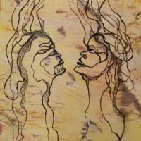 Akrylmaleri - 70 x 100