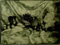 Kitchen Ambrotype / 18x24cm / framed