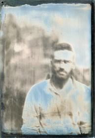 self portrait, 10x15cm daguerreotype