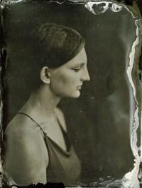 Olga portrait, Ambrotype, 18x24cm