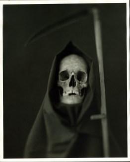 Portrait of Death, silver-gelatin print on baryta paper, 20x25cm