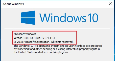 what windows do i have , check windows 10 version