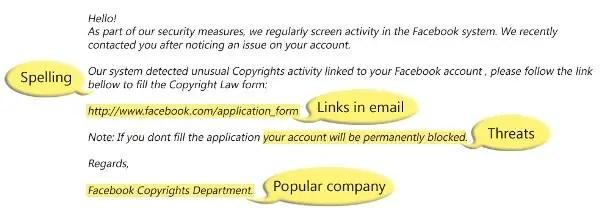 phishing attack website