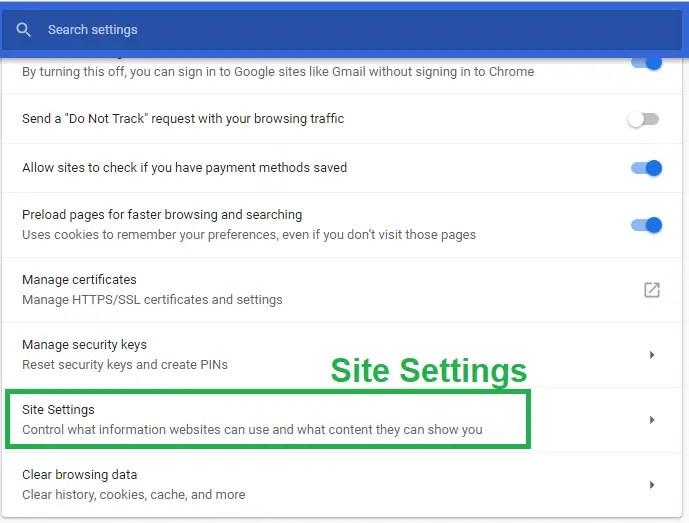 voice search desktop