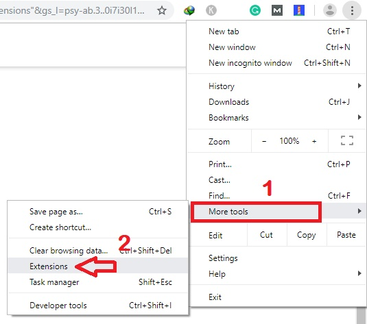 remove chrome extension manually,delete google chrome extensions