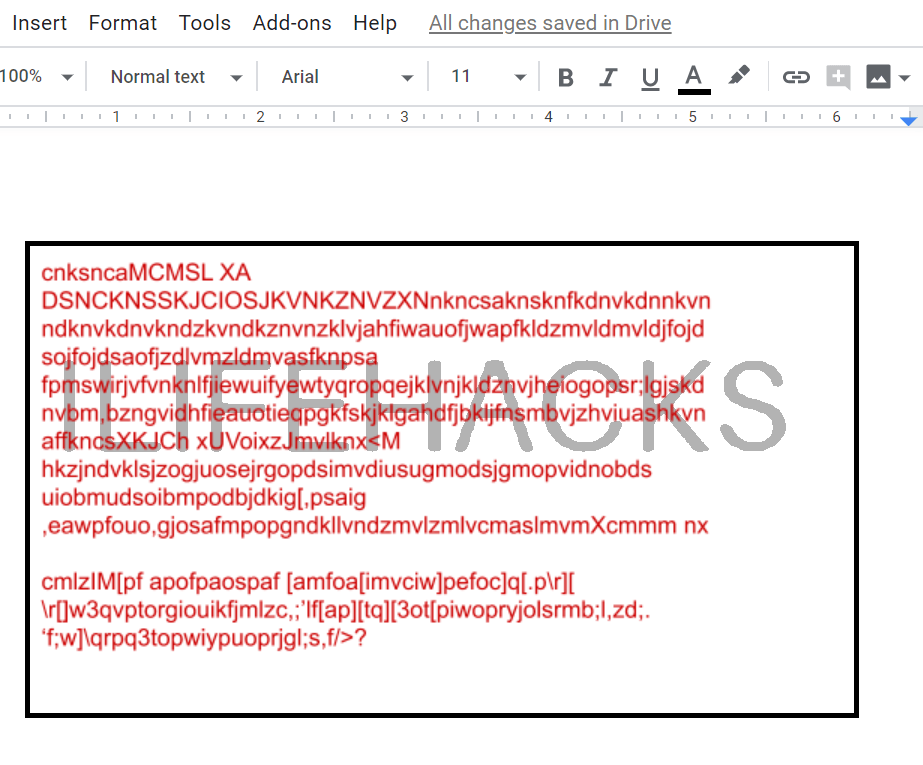 Insert Text box over Image in Google docs