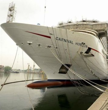 Inaugural Cruise Bow