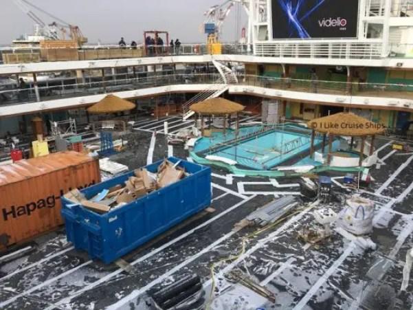 inaugural cruise pool