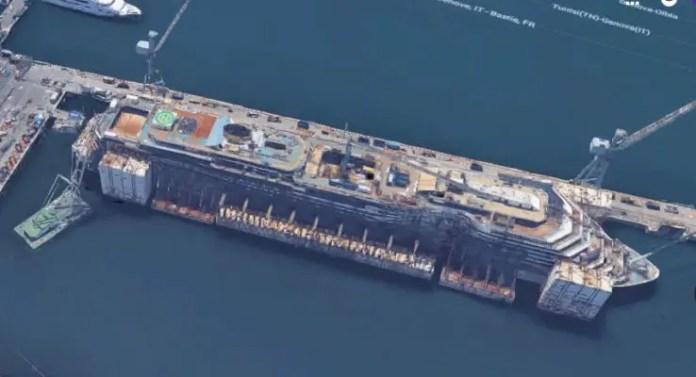 Costa Concordia hull
