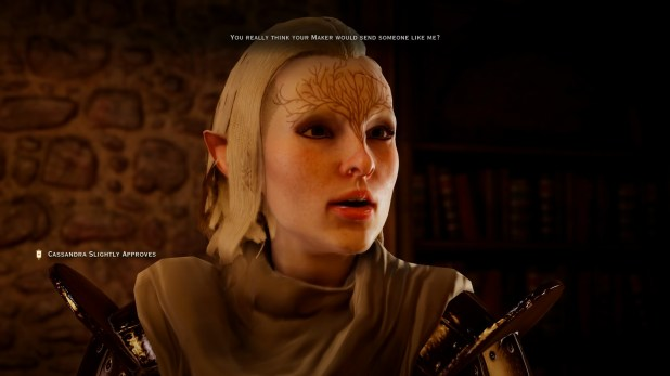 Dialogue UI - Dragon Age - Inquisition