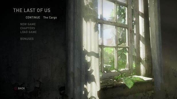 Main Menu - Last Of Us