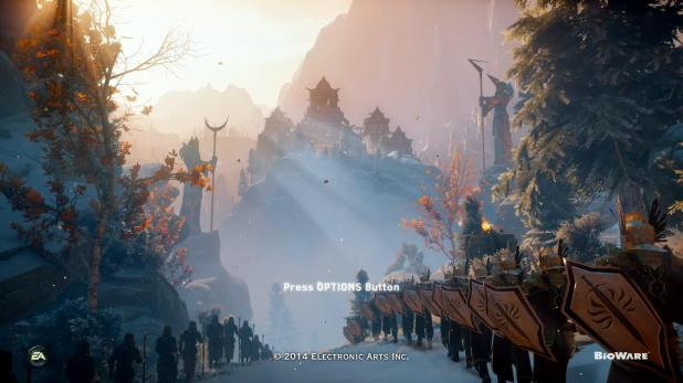 Start Sequence - Dragon Age Inquisition