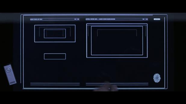 Control Panel UI - Tron Legacy