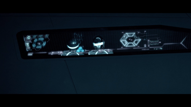 Analysis UI - Tron Legacy