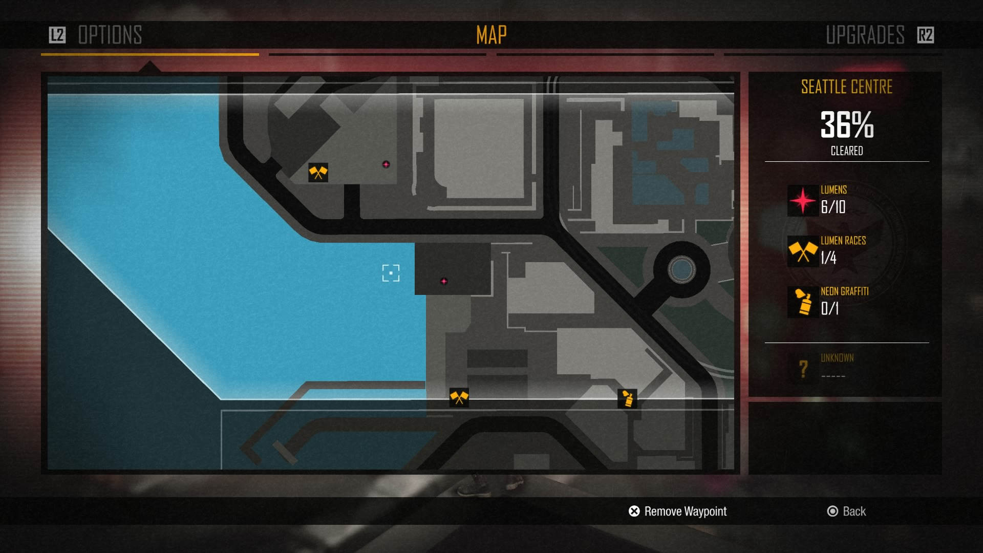 Maps UI - inFAMOUS first light