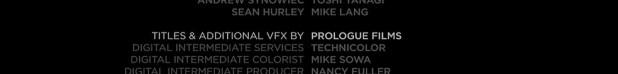 Oblivion Titles credits