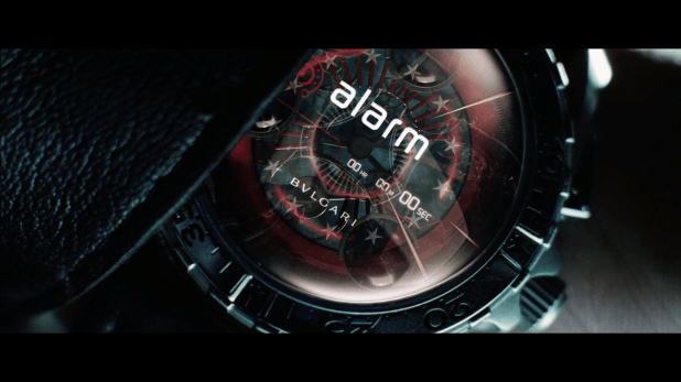 Countdown UI - Minority Report